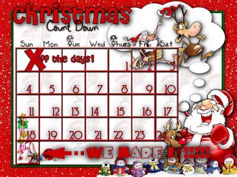 Christmas Calendar Template Free printable countdown to calendar 2017 calendar