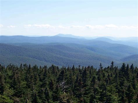 section 8 vt mm 12 2 view south from firetower on glastenbury mt the