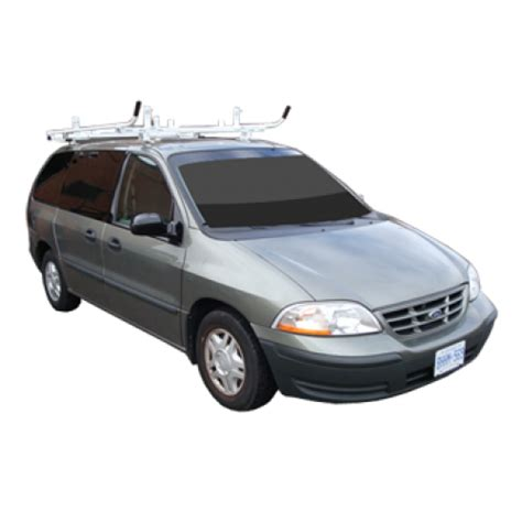 Minivan Ladder Rack by Aluminum Minivan Ladder Rack Single Lock