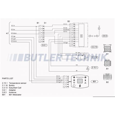 eberspacher d5w wiring diagram electronic circuit diagrams
