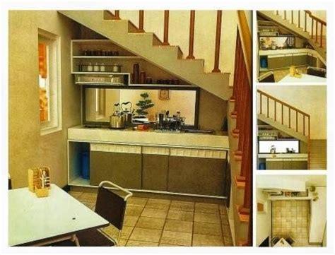 desain dapur minimalis bawah tangga ruang bawah tangga rumah minimalis rumahfit com