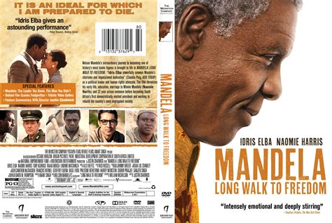 Gets An Cover by Mandela Walk To Freedom Dvd Cover 2013 R1