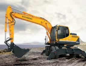 Hyundai Construction Equipment R180w 9a Wheeled Excavator Diggers Hyundai