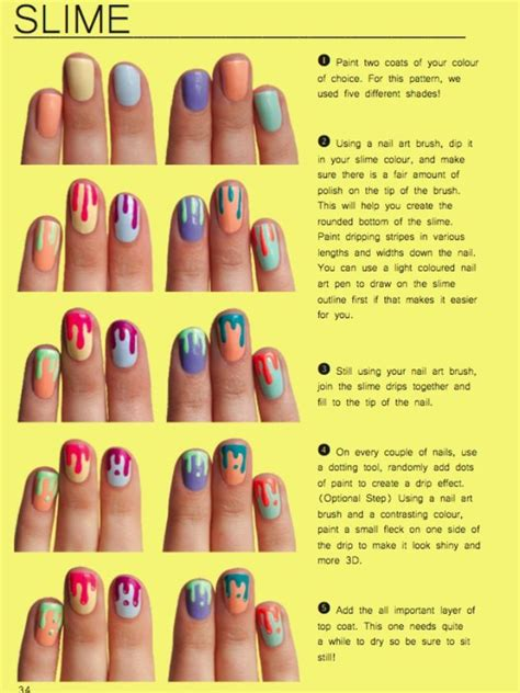 slime nail tutorial 1000 images about nails on pinterest nail art