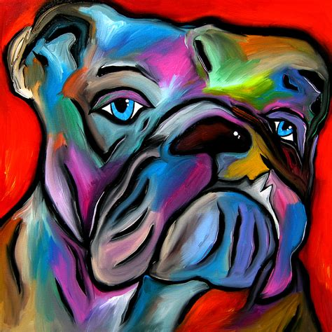 paint with a twist tulsa that s bull abstract pop by fidostudio painting