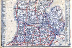 Road Map Of Michigan by Road Map Lower Michigan Bing Images