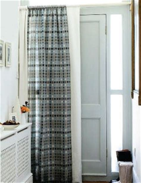 Curtains For Drafty Windows Door Curtain To Keep Out Winter Drafts This Is What I Do In My Home It Works