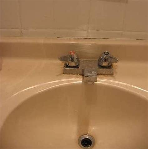 refinish  cultured marble sink hunker