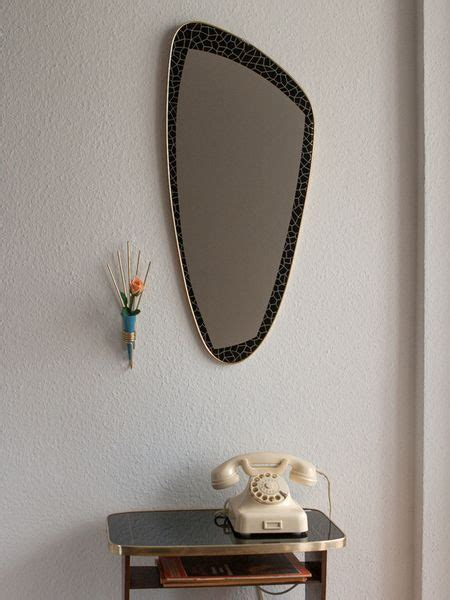 home decor objects mirrors home decor 50s mirror by dawanda decor
