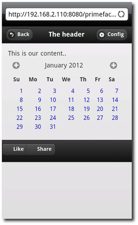 primefaces layout unit header hascode com 187 blog archive 187 create mobile websites using