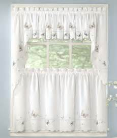 Ebay Kitchen Curtains New Monarch Butterfly Kitchen Tier Curtain Ebay