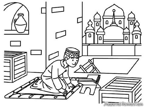wallpaper anak mengaji mewarnai gambar orang mengaji al qur an mewarnai gambar