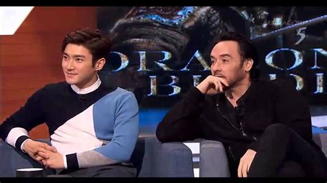 jackie chan john cusack 150209 the 5 show with cast of dragon blade 1 2 jackie