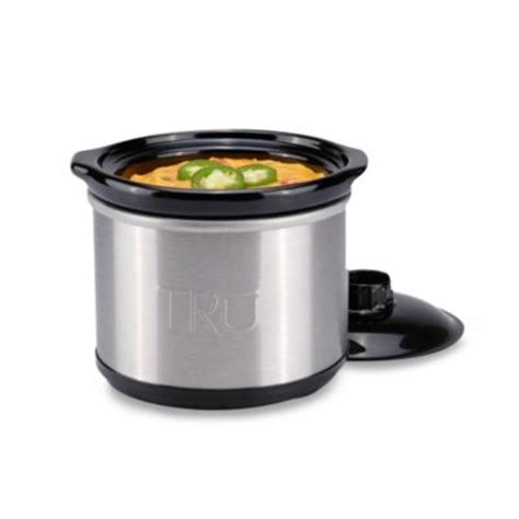slow cooker bed bath and beyond tru 0 65 quart slow cooker