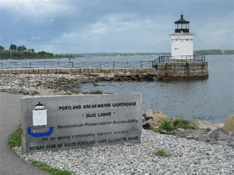 do bed bugs come out in light portland breakwater light quot bug light quot view of portland picture of portland