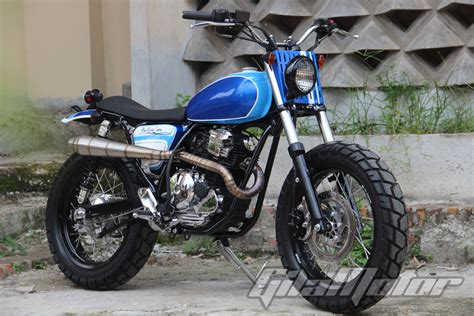 Resmi Sparepart Yamaha Scorpio modifikasi yamaha scorpio langsung juara kontes gilamotor