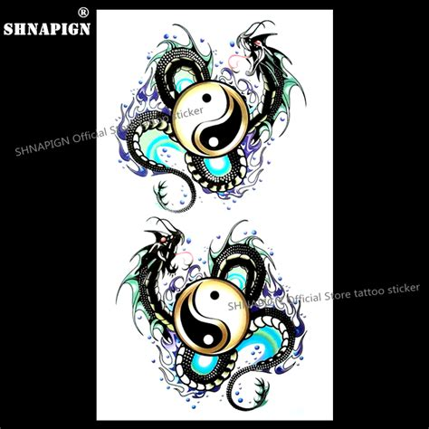 yin yang tattoo flash online buy wholesale yin yang tattoos from china yin yang