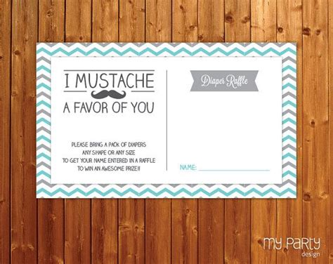 free printable diaper raffle tickets mustache 20 best images about baby shower on pinterest diaper