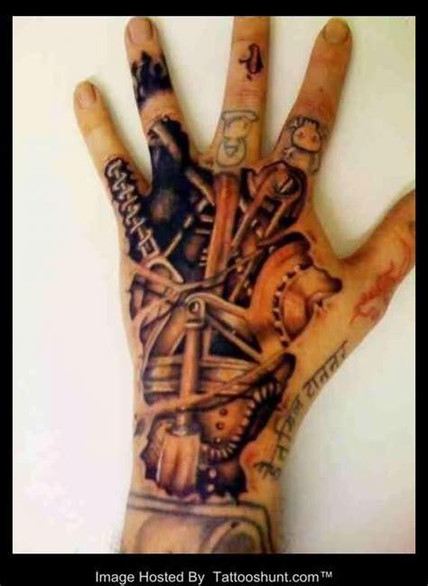 tattoo biomechanical hand left hand 3d biomechanical tattoo tattooshunt com