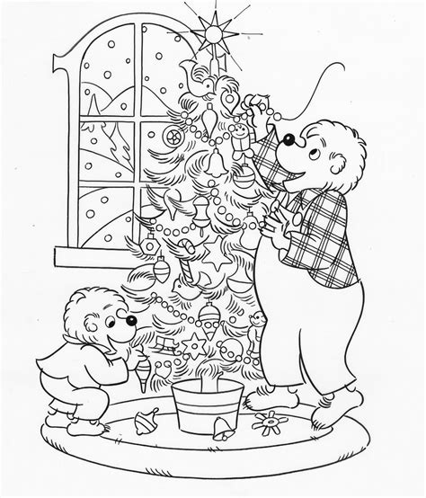 sister bear coloring page 65 berenstain bears coloring page mini golf