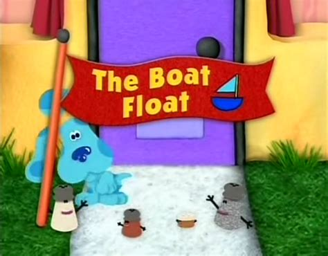 boat song clue the boat float blue s clues wiki fandom powered by wikia