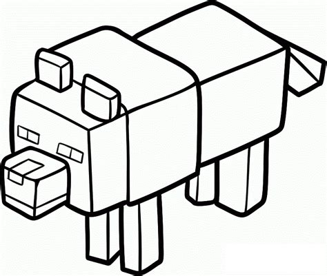 Galerry coloring pages for minecraft