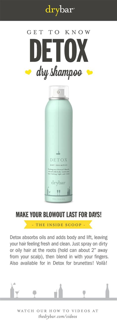 Https Www Thedrybar Detox Shoo by 1000 Images About The Sauce On Hair Masks