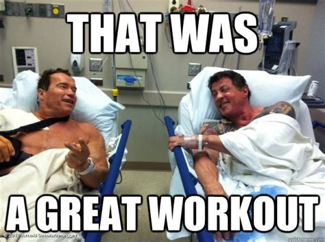 Injury Meme - no pain no gain injury vs gains crossfit woden