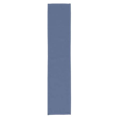 solid color rug runners only blue steel solid color table runner zazzle