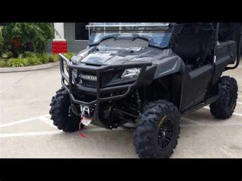 "custom honda pioneer 700 4 27"" itp tires & wheels utv"