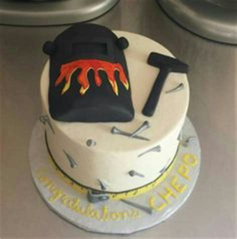 Welding Cake by Paul The Welder S 21st Birthday Cake A Two Tiered