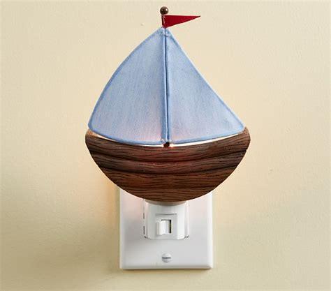 sailboat night light sailboat nightlight pottery barn kids