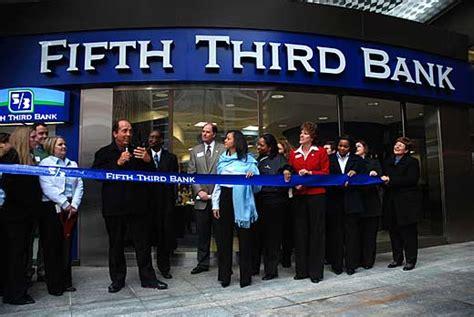 5th 3rd bank cincinnatistockexchange fifth third bank