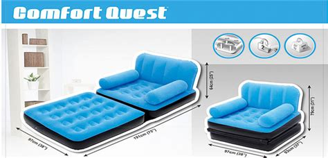 Furniture Terlaris Sofabed Bestway 2 In 1 Single Included Pompa bestway single air sofa bed in pakistan hitshop