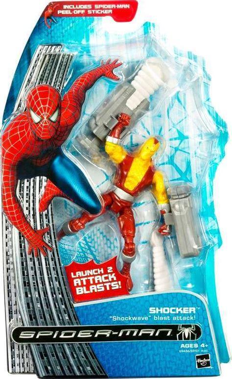 spider 3 figures spider spider 3 shocker figure hasbro toys