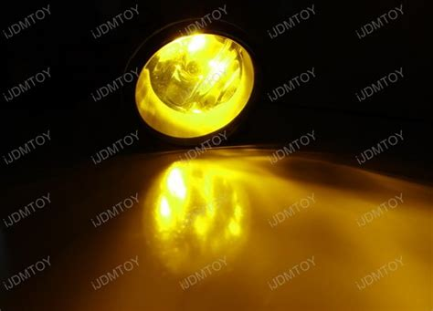 yellow led fog light bulbs oem fit fog lights with h11 halogen bulbs for lexus toyota
