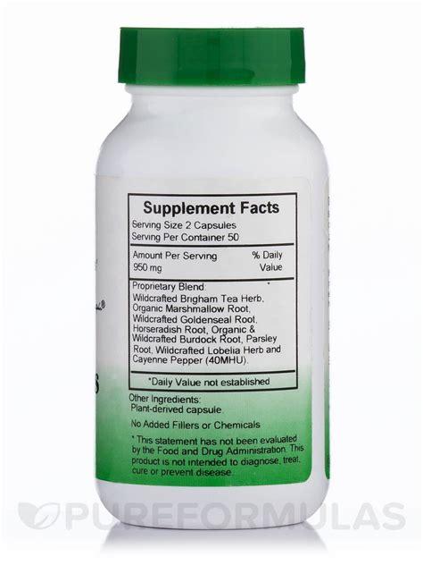 Sinus Formula sinus plus formula 100 vegetarian capsules