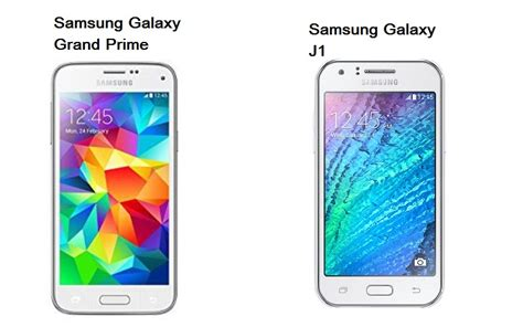 Samsung J1 Vs Grand Prime Harga Samsung Galaxy J1 Vs Samsung Galaxy Grand Prime
