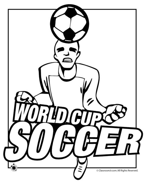 World Cup Soccer Coloring Page Woo Jr Kids Activities World Cup Coloring Pages
