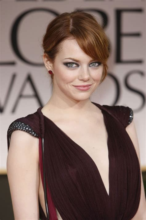 emma stone earnings platinum jewelry rules the red carpet at the 69th annual