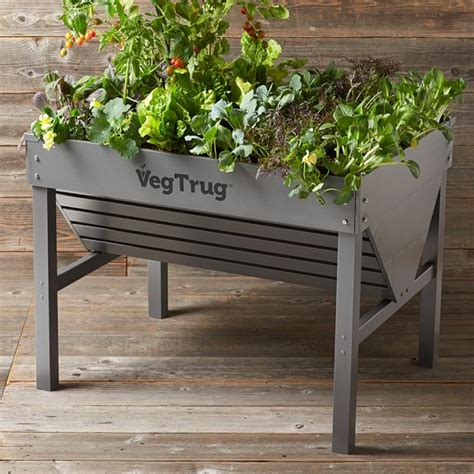 Garden Trug Planter by Vegtrug Aluminum Planter Williams Sonoma
