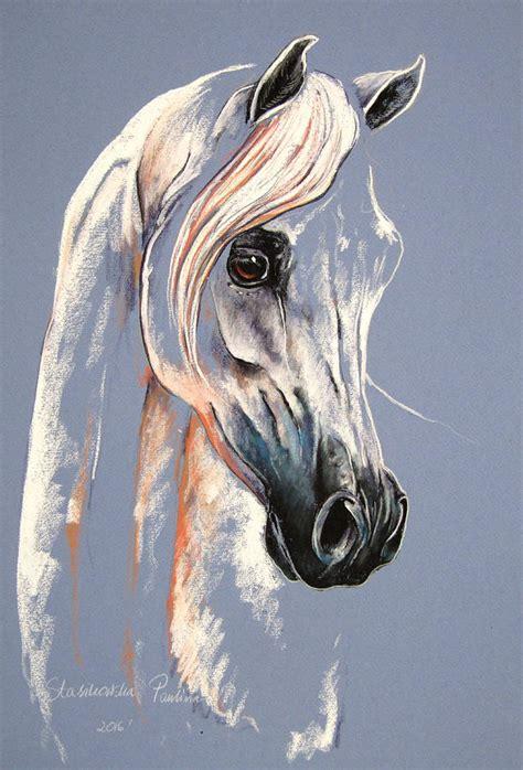 Arabian Home Decor by Arabian Horse Mixed Media By Paulina Stasikowska