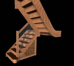 Wooden Handrails For Stairs Free Stair Models Stair Design Software