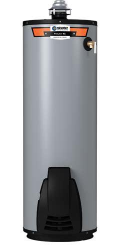 high efficiency gas water heater 40 gallon proline 174 xe high efficiency non condensing ultra low nox