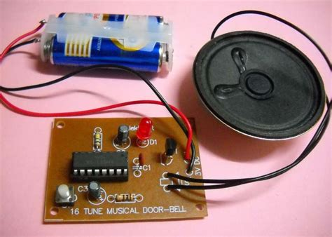Tune Bell sound effect kit 16 tune musical door bell melody