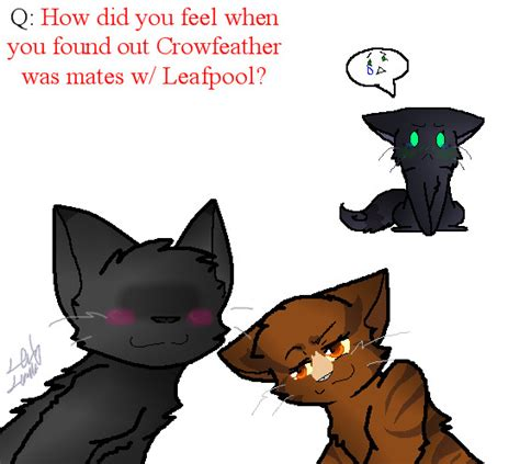Q2: ....Leafpool. And. Crowfeather. :T by Ask-Nightcloud ... Leafpool And Crowfeather Mating