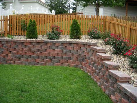 garden retaining wall design backyard landscape ideas