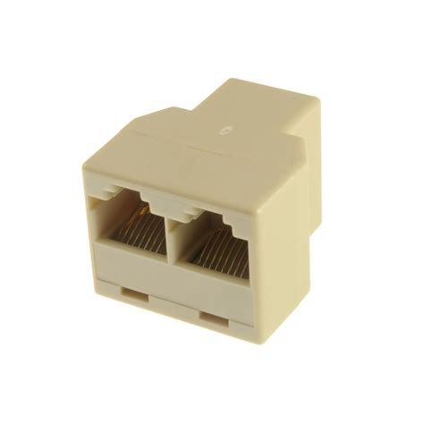 Rj45 Lan Networking Connector buy rj45 cat5 6 ethernet cable lan port 1 to 2 socket splitter connector adapter
