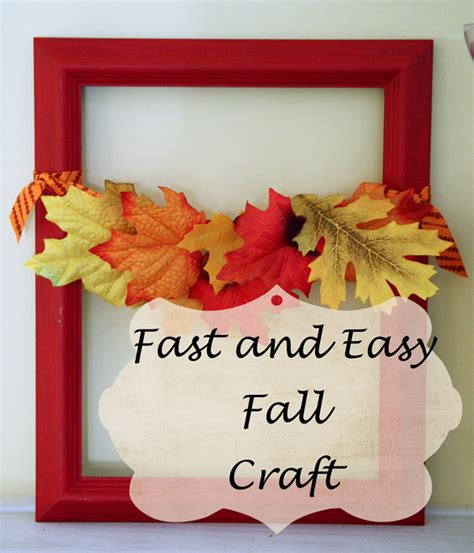easy fall crafts southern scraps fast and easy fall craft