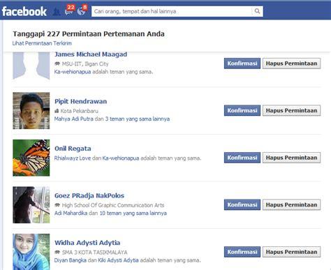 fb cepat cara cepat konfirmasi pertemanan di facebook dengan auto